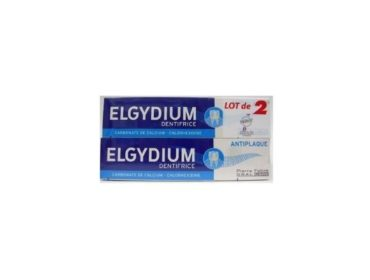 Elgydium dentifrice lot de 2